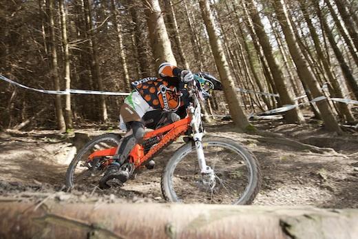 Tom Gooch Orange Bikes 224 Innerleithen Alpine Winter Series