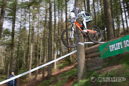 Adam Hughes Orange Bikes
