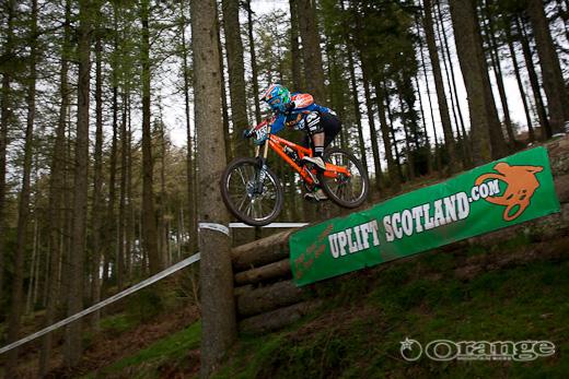 James Shirley Orange Bikes Ae step down