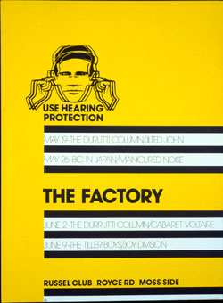 Factory Records Poster