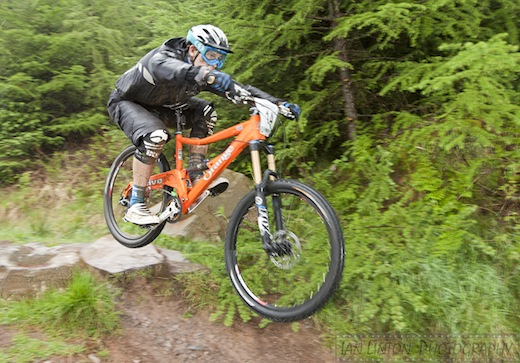 James Shirley Orange Bikes Five Ae Enduro