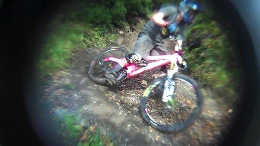 Joe Barnes Ae Forest MTBcut Orange Bikes