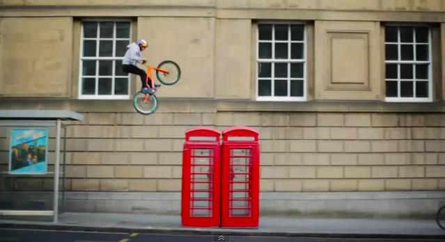 Danny MacAskill Orange Bikes