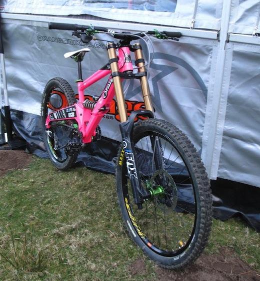 Orange Bikes 322 MTBcut Nant G