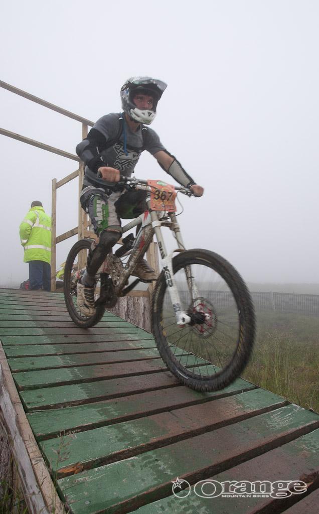 Guy Martin Endurance DH Orange Bikes No Fuss Hope