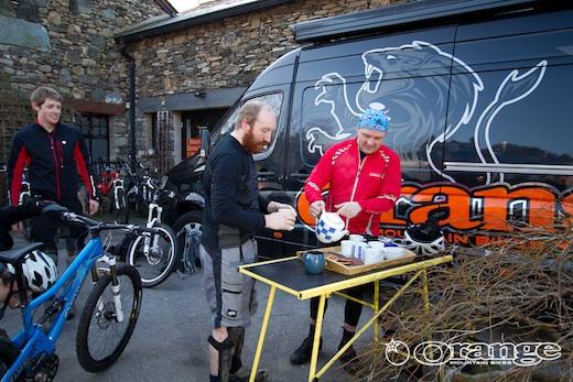 Cup of tea Orange Mountain Bikes