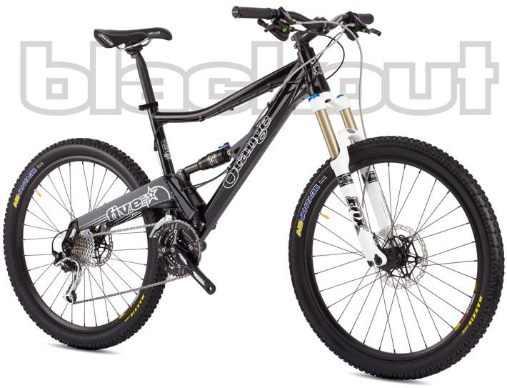 Orange Bikes Five Pro Blackout Hope Tech X2