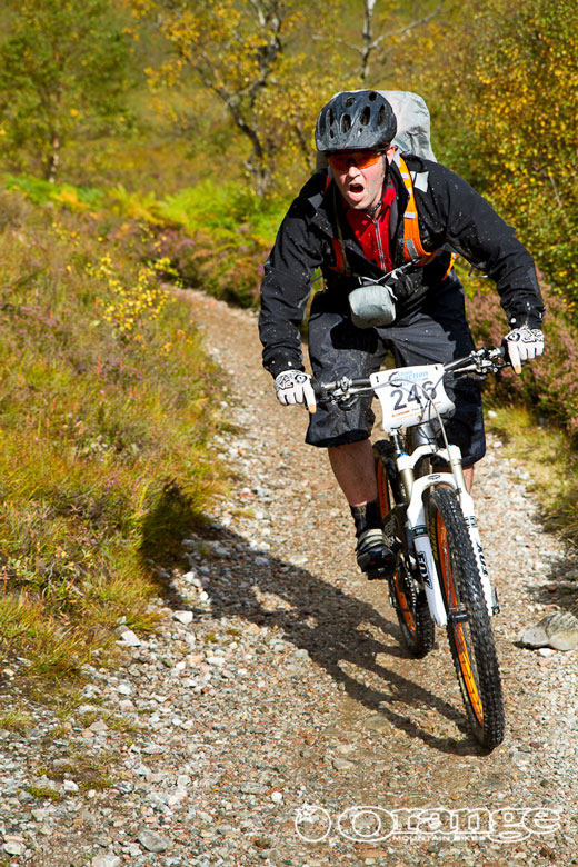 John on the Dh at Kinlockleven