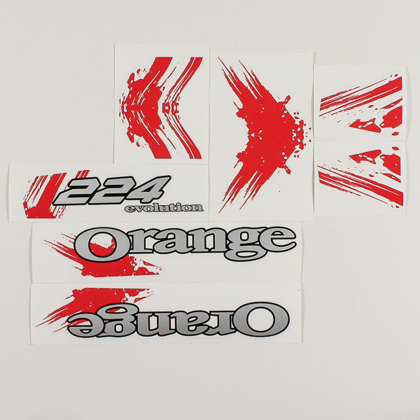 Red decal kit