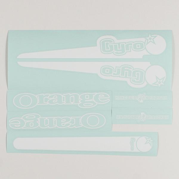 White decal kit