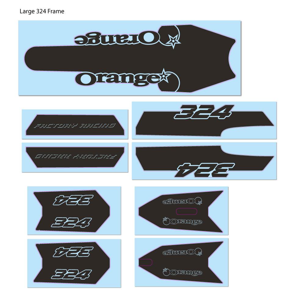 Black Decal Kit