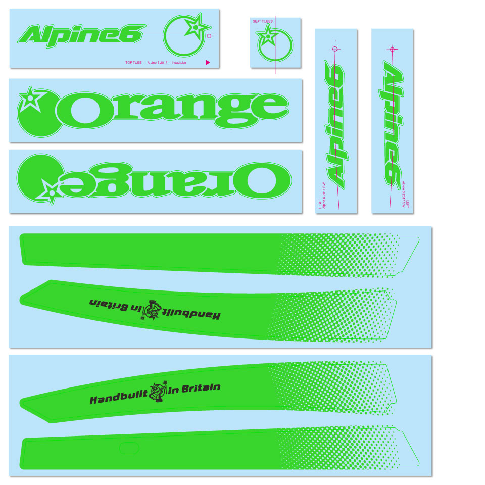 Green Decal Kit