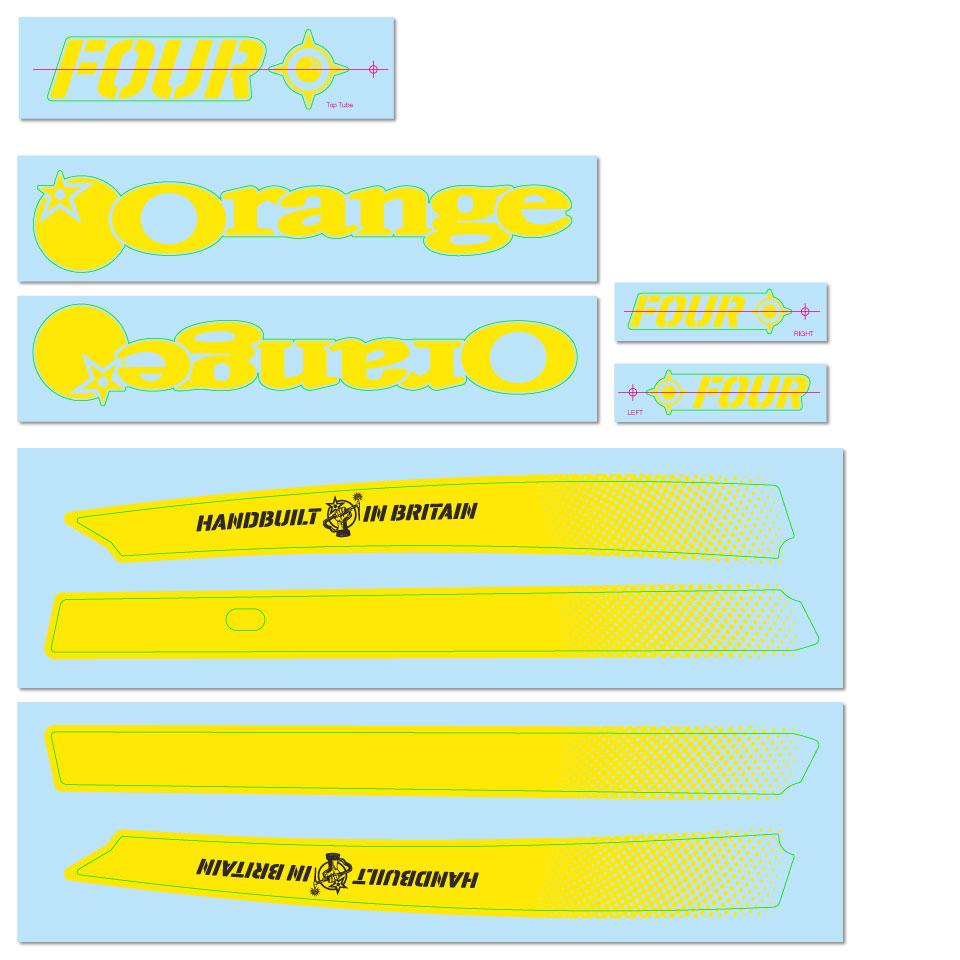 Yellow Decal Kit