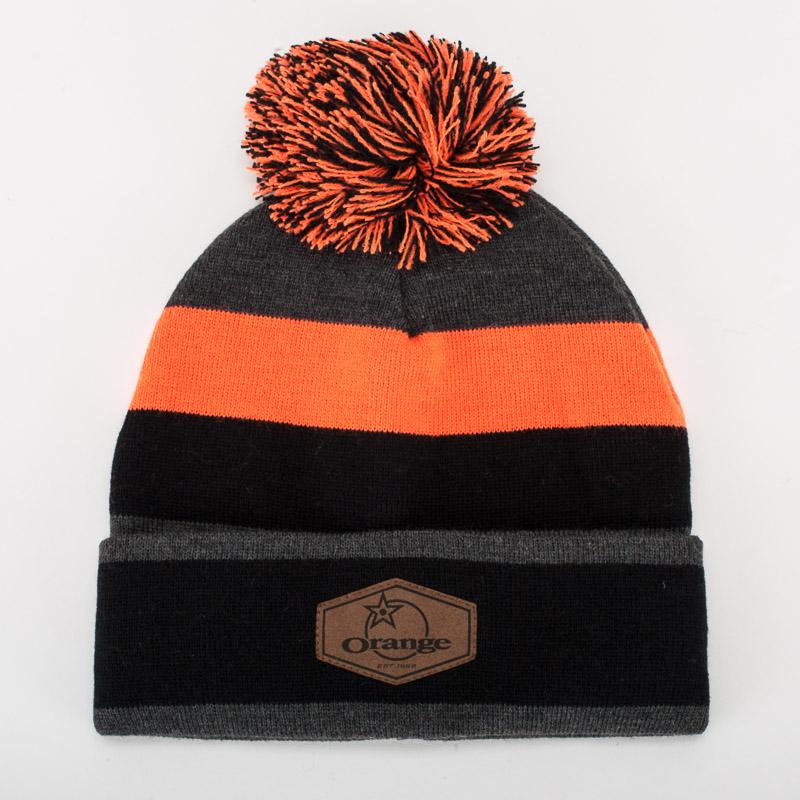 Orange Bikes Bobble Hat 1
