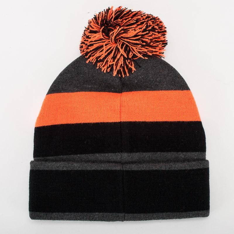 Orange Bikes Bobble Hat 2
