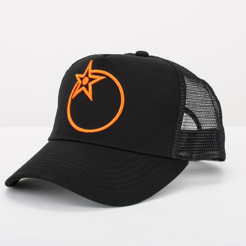 Orange Emblem Cap