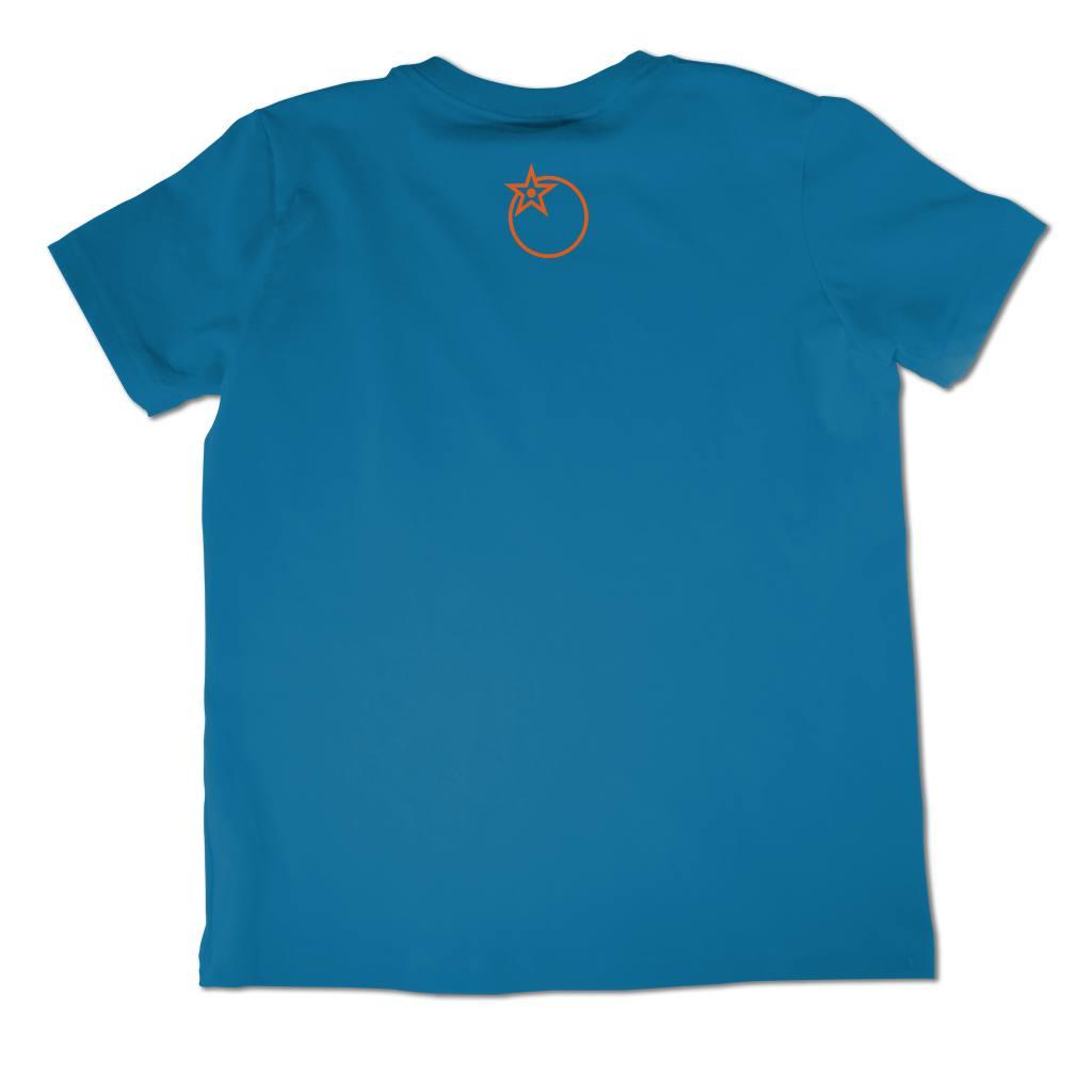 back froot logo printed in orange