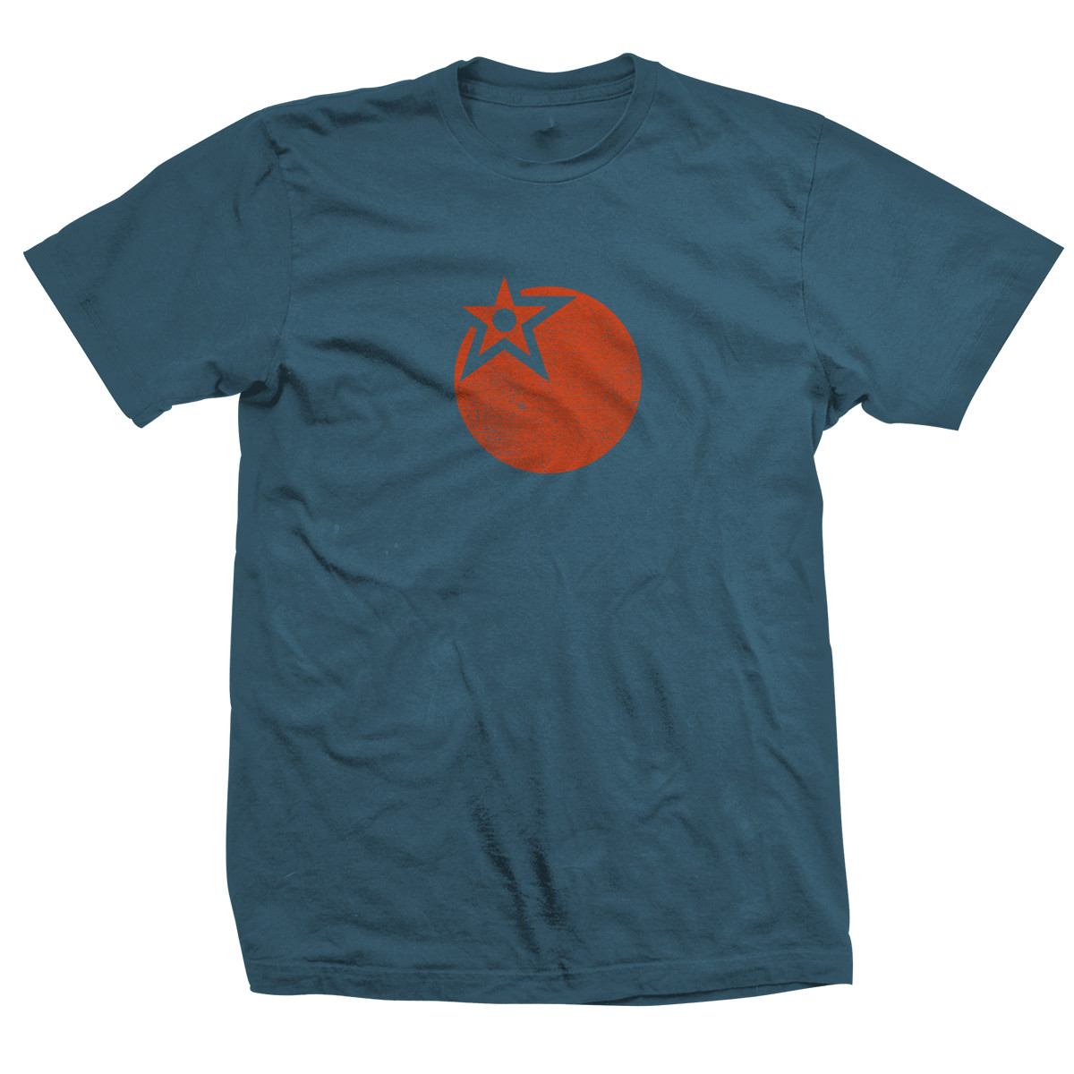 Heart or Orange Stargazer Tee Front