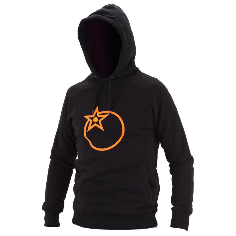 Orange Hoodie Front