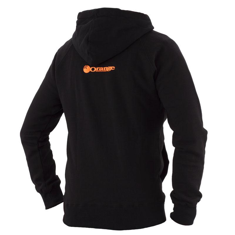 Orange Hoodie Back