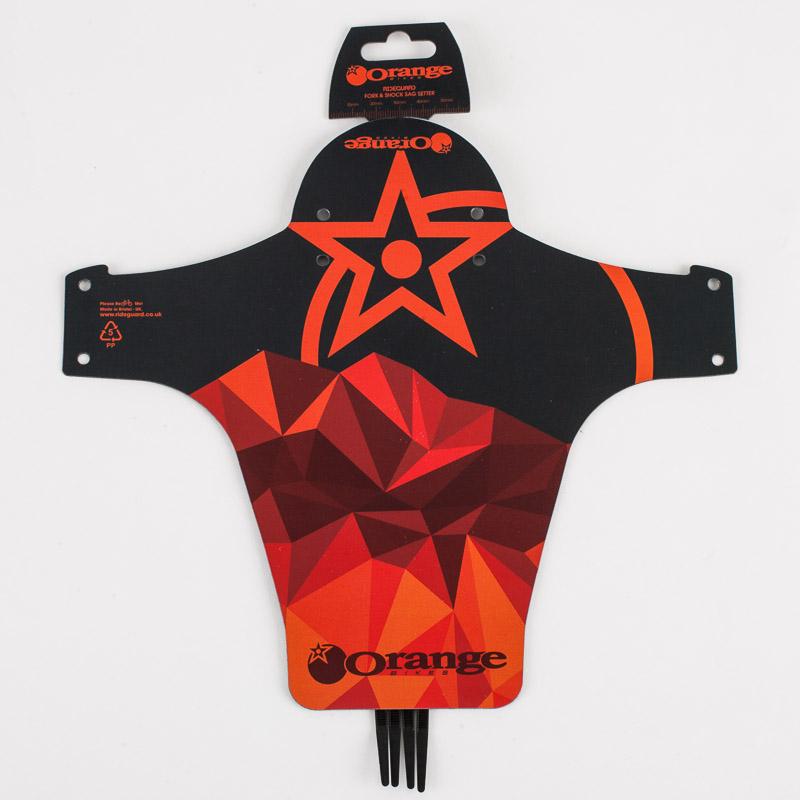 Orange RideGuard Black/Orange