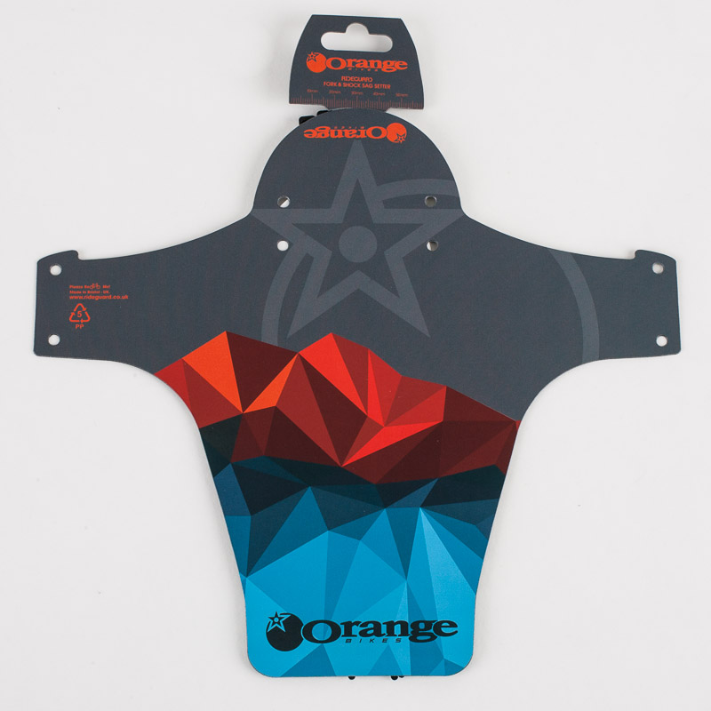 Orange RideGuard Grey/Blue/Orange