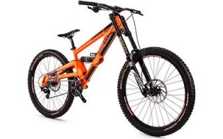 mountain bike range orange mountain bikes. Black Bedroom Furniture Sets. Home Design Ideas